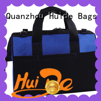 electrician tool bag with pockets function for drills