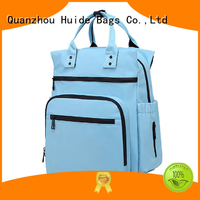 Huide neutral baby diaper bags company for toddler