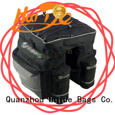 Huide good quality bicycle rear trunk bag factory direct sale for family