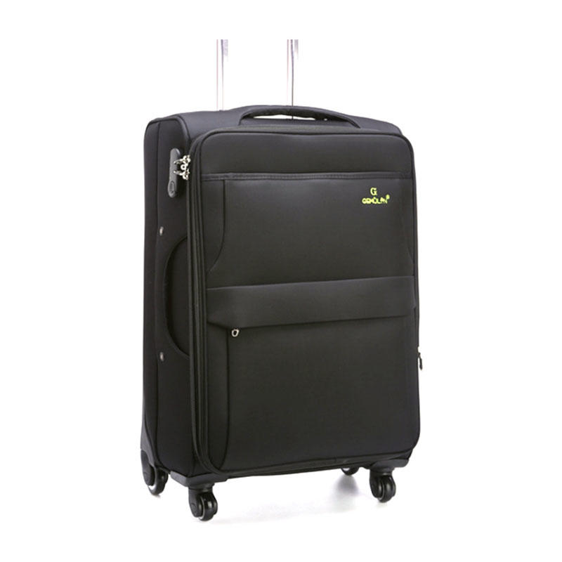 Expandable Softside Luggage with Spinner Wheels