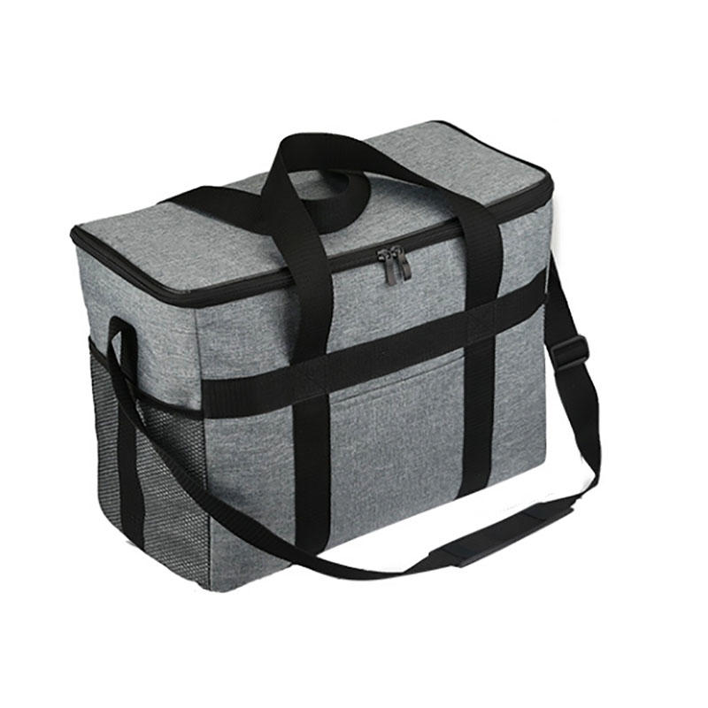 Lunch Bags Box Insulated Large Cooler Tote Bag  Double Deck Cooler
