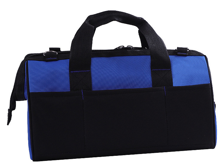 Storage Tool Bag Close Top Wide Mouth with Adjustable Shoulder Strap and Sturdy Bottom