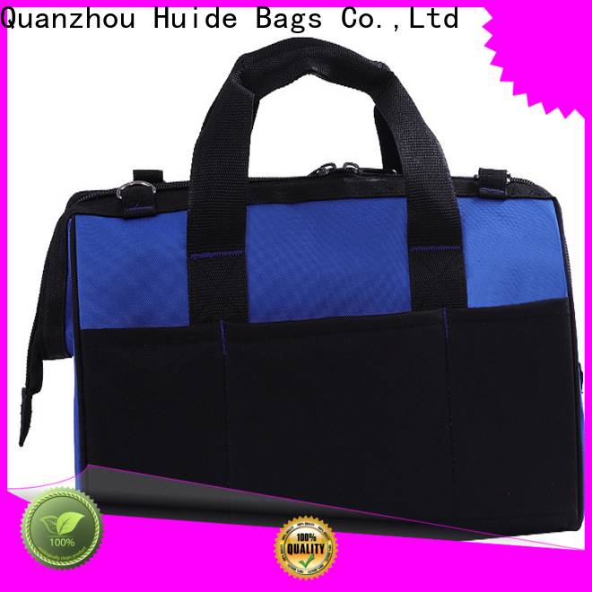 Huide wide long canvas tool bag supply for motorcycle