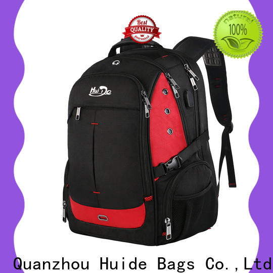 Huide Latest durable laptop backpack suppliers for men and women