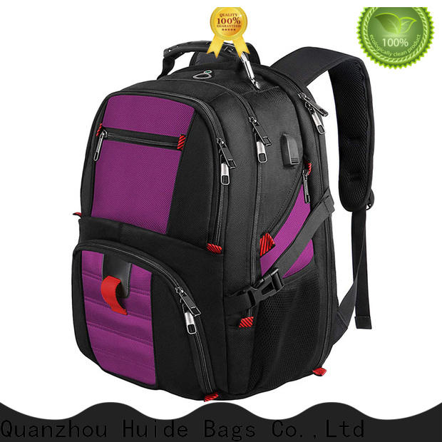 Huide resistant business computer backpack factory for women