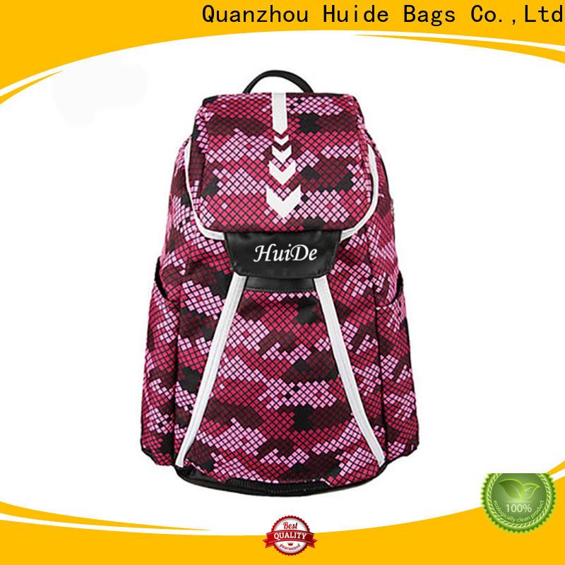 Huide backpack bag racket badminton company for ladies