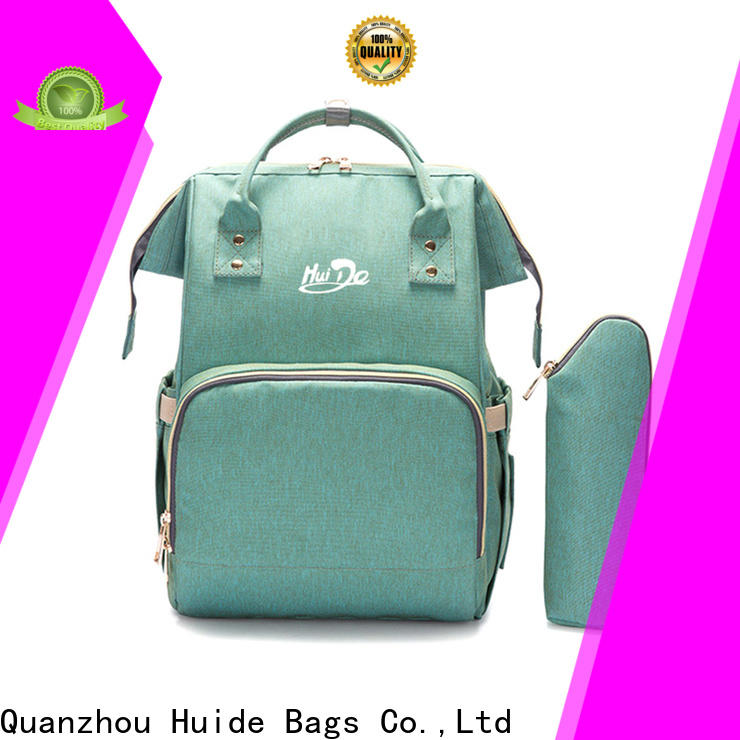 Huide New beautiful baby bags manufacturers for twins