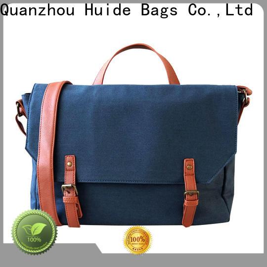 Huide messenger computer messenger bag for business for guys