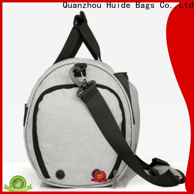 small travel duffel bag & miniature shopping bags