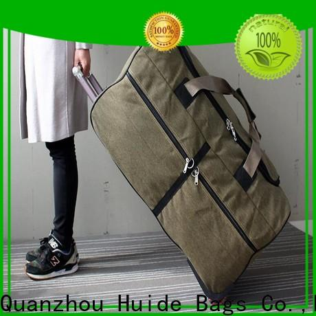 New 4 wheeled duffle luggage deployment suppliers for travel