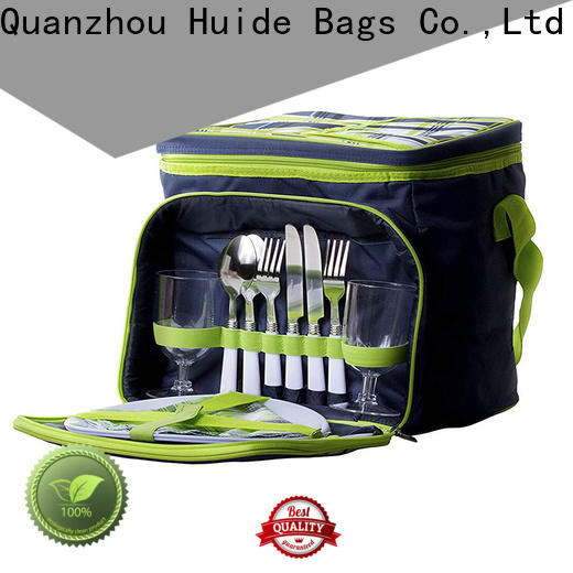 picnic set with cooler & police tactical backpack