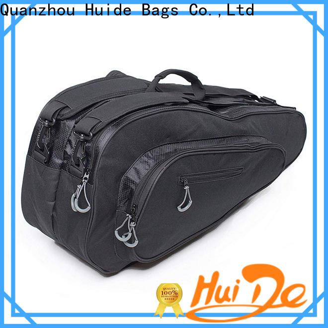 Huide men personalised badminton bag suppliers for men