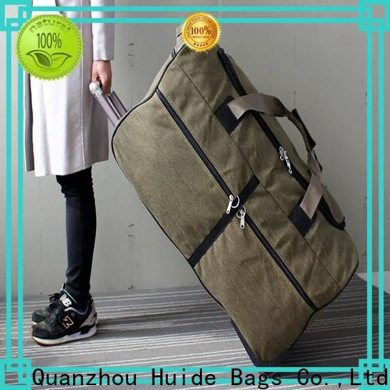 Latest 4 wheeled duffle luggage trekking for business for college