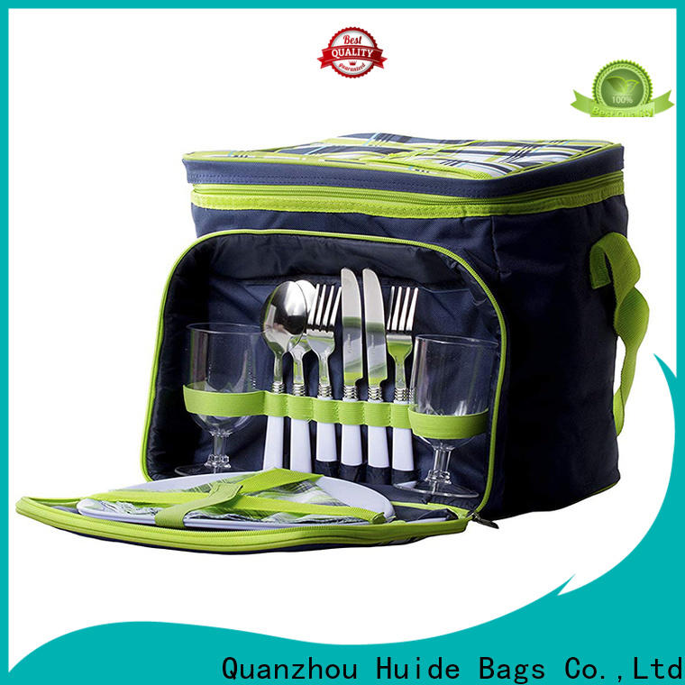 Huide backpack complete picnic set supply for kids