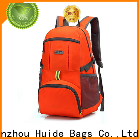 Huide foldable foldable traveling bag factory for travel
