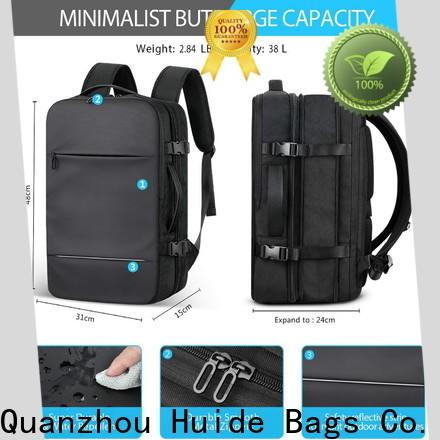 good business backpack & folding hand bag