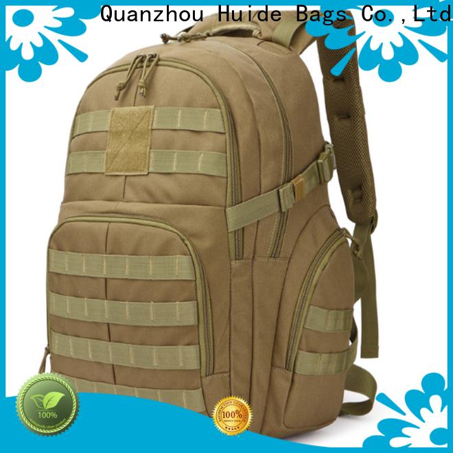 grey duffel bag & tactical shooting backpack