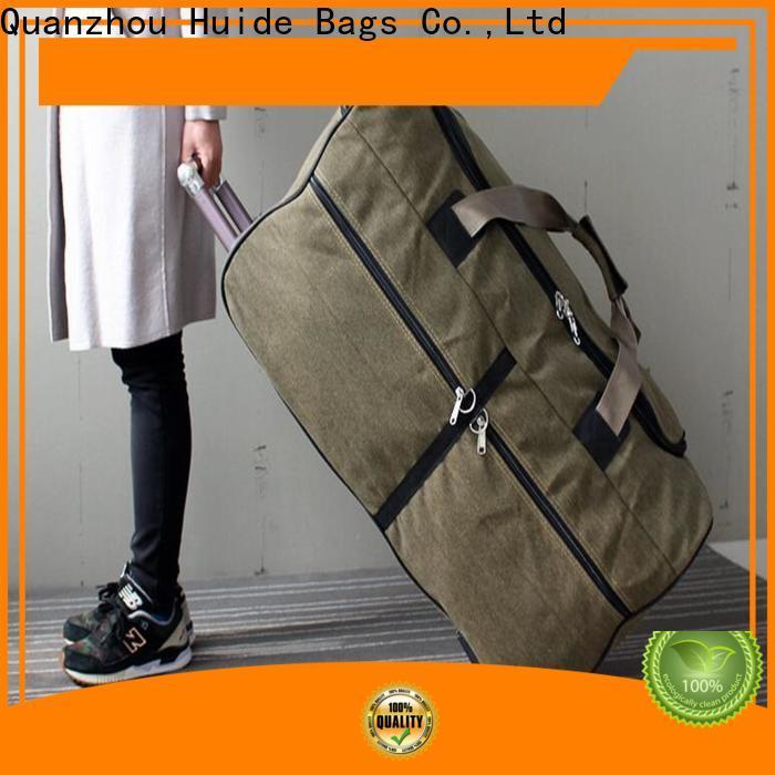 Huide Huide trolley duffel company for travel