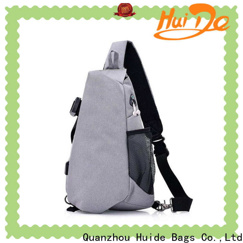 Huide large military chest bag supply for adults
