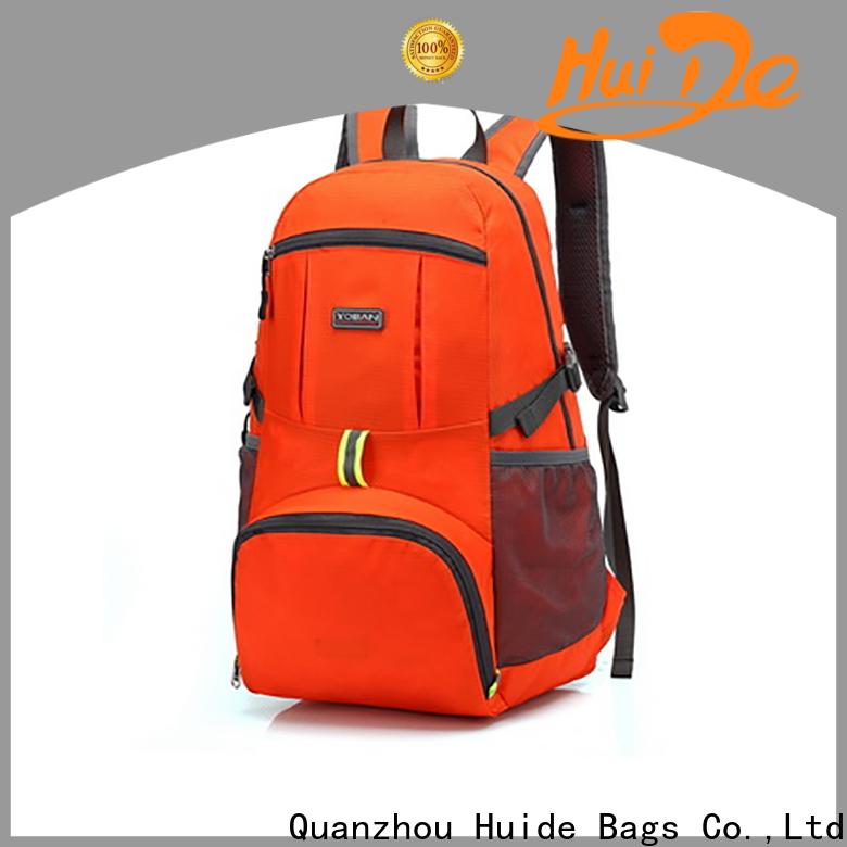 antler rolling duffel & folding backpack