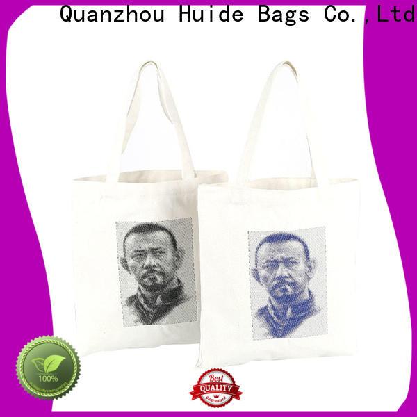 initial shopper bag & zipper shopping bag