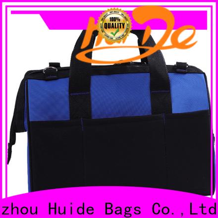 Huide adjustable custom vinyl bags company for boys