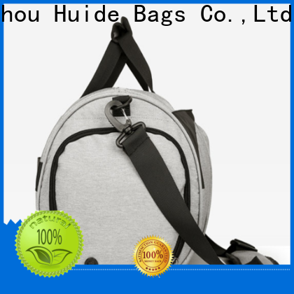 Huide travel sports travel bag suppliers for laptop