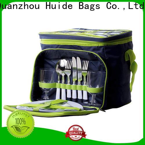 rollable garment bag & 4 person picnic bag