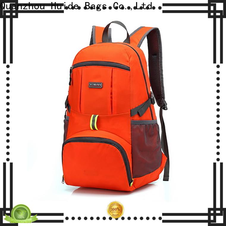 Huide Huide foldable laptop bag factory for travel