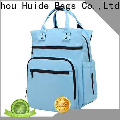Huide Wholesale small girl diaper bags suppliers for toddler