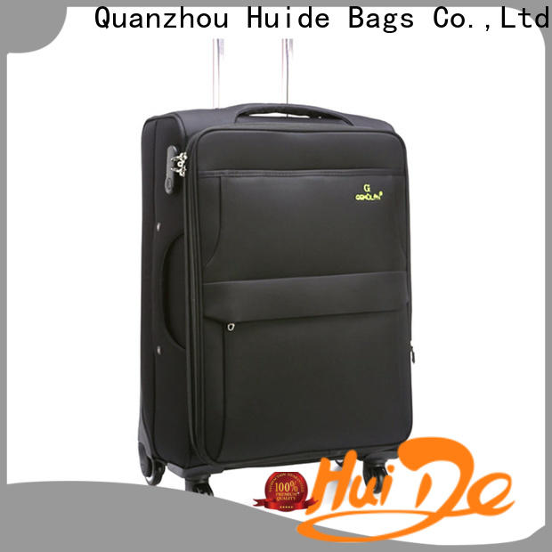 Huide Wholesale best soft sided suitcase company for kids