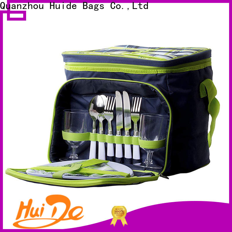 High-quality 2 person backpack picnic set tote company for weekender
