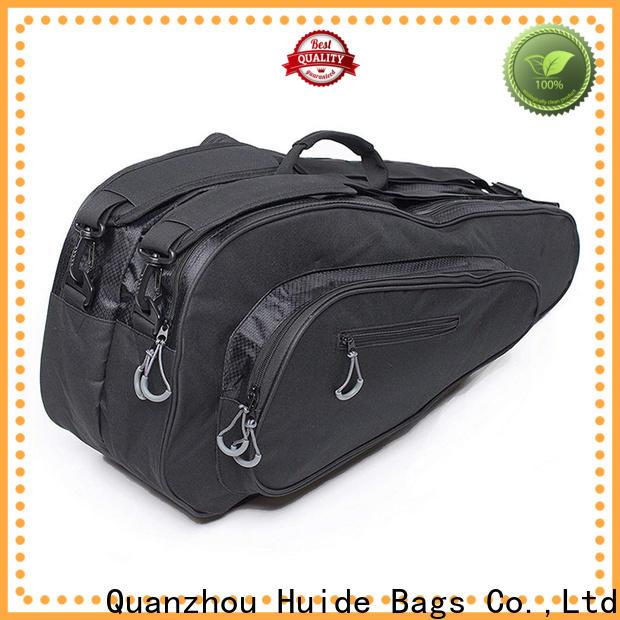 Huide Top badminton racket cloth bag manufacturers for men