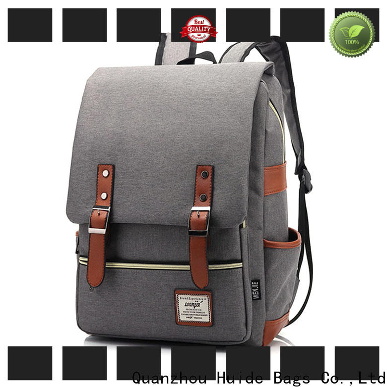 Huide New classy backpacks for guys factory for school