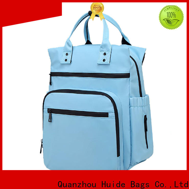 Huide Custom cute nappy bags suppliers for baby boy