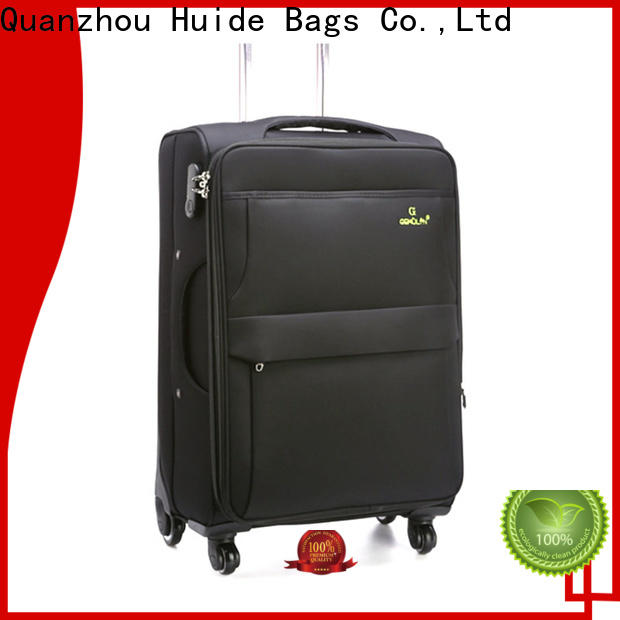 Top soft sided cabin luggage wheels suppliers for college girl