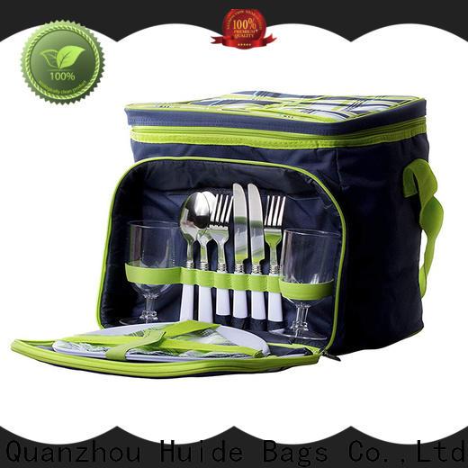 Huide Wholesale rucksack picnic sets supply for kids