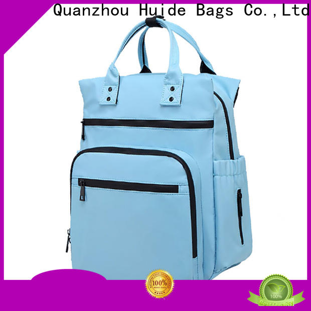 Huide stylish diaper bag manufacturers for baby boy
