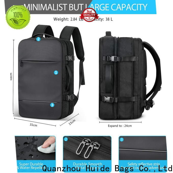 Huide resistant backpack wholesaler for business for men and women