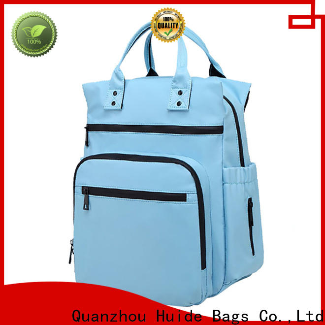 Huide Custom little boy diaper bags for business for dad