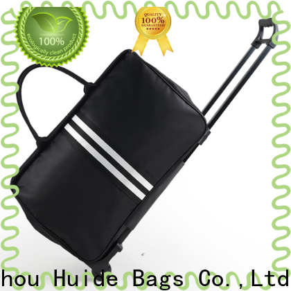 Huide heavyduty duffle trolly bags factory for office