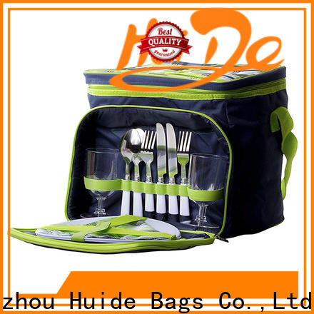 Huide Custom confidence picnic backpack suppliers for two people