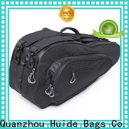 Huide practical pink badminton bag company for girls