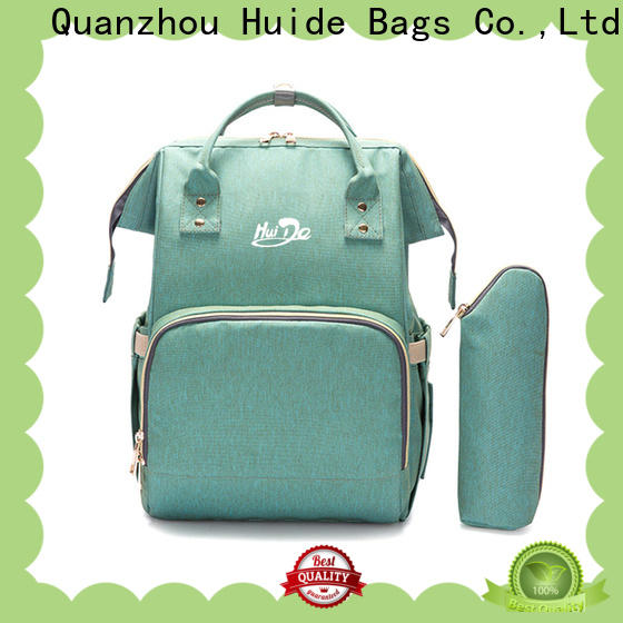 Huide Wholesale mummy baby bag for business for baby girl