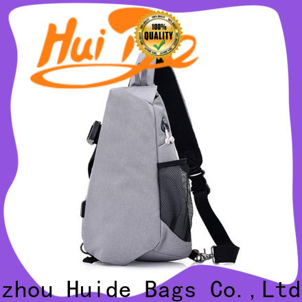 Huide chest outdoor sling bag company for boy