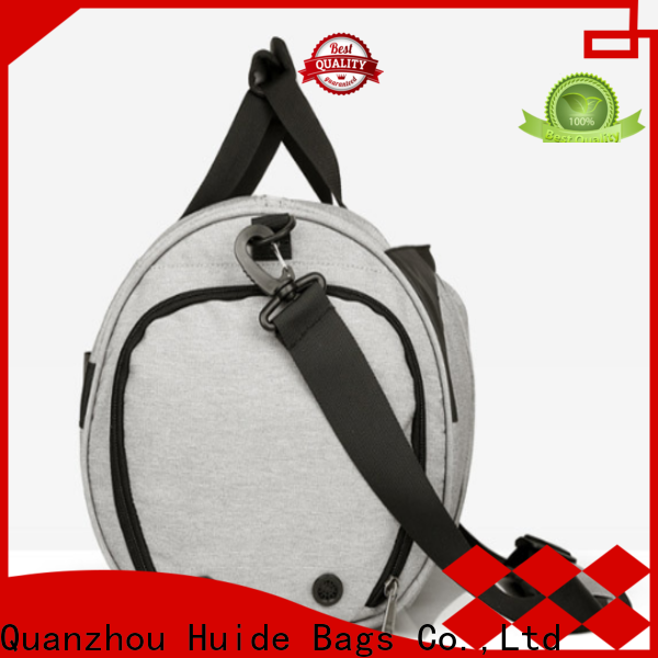 Huide duffel small duffel travel bag manufacturers for man
