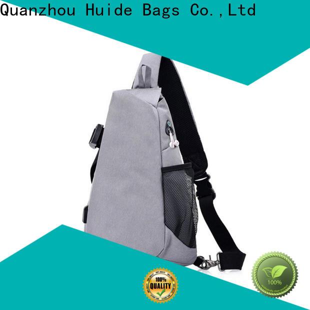 Huide men wholesale chest bag factory for woman