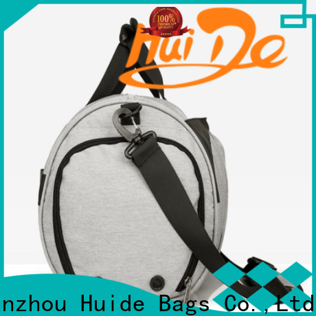 Huide compartment custom printed bags supply for business