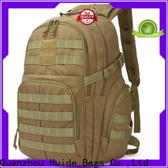 Huide backpack big tactical backpack supply for hiking