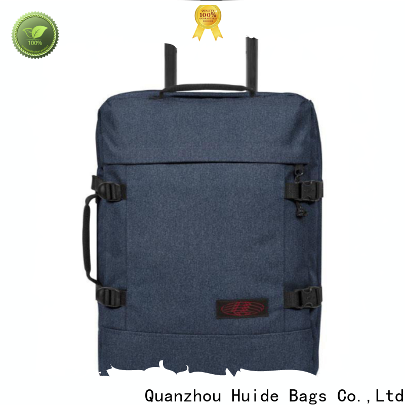 Huide wheels trolley bags sizes manufacturers for men and women